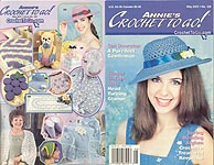 Annie's Crochet To Go #128, May 2001
