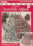 Leisure Arts Crocheted Snowflake Afghans