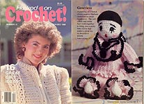 Crocheted Double Thick Diagonal Hot Pad Pattern at Mielke