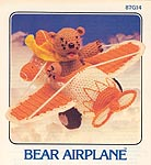 Annie's Attic Bear Airplane