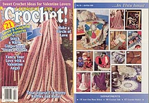 Hooked on Crochet! #55, Jan-Feb 1996