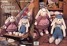 Crocheted Country Bunnies