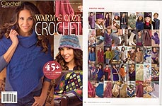 Crochet! Magazine Presents Warm & Cozy Crochet