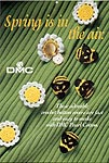 DMC Spring Is In the Air: Daisy and Bumblebee Button Covers