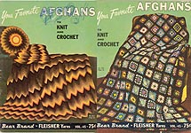 Bear Brand Your Favorite Afghans to Knit and Crochet