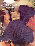 Annie's Crochet Quilt & Afghan Club, Bill's Tweed Blanket