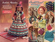 Indian Maiden outfit for 15 inch doll, in Annie's Crochet To Go, September 2001 #130