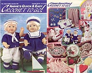 Annies Quick & Easy Crochet To Go #109, Feb - Mar 1998