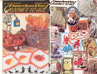Annies Quick & Easy Crochet To Go #107, Oct - Nov 1997