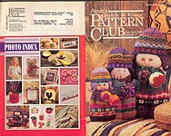 Annie's Quick & Easy Pattern Club No. 70, Aug- Sept 1991