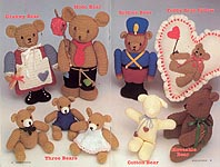 Annie's Attic Bears on Parade