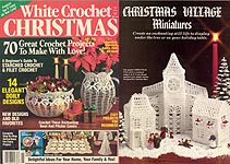 White Christmas Crochet, 1991.