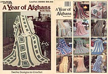 Leisure Arts A Year of Afghans, Book Three