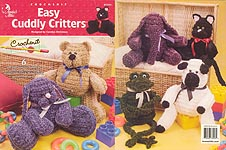 Annie's Attic Easy Cuddly Critters in Crochenit