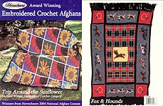 Herrschners Award Winning Embroidered Afghans, 2004