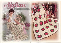 Pastel Checkerboard Quilt Look Afghan TNS Crochet PATTERN//INSTRUCTIONS//NEW