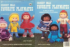 Pat Depke Crochet Dolls Favorite Playmates