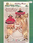 Fibre Craft Holiday Muses leaflet has instrucitons for Angel, Caroler, and Christmas Girl.