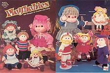 Mangelsen's PlayBabies: Doll Designs for Crochet and Fabric