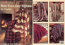 LA More Extra Easy Afghans to Crochet