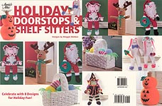 Annies Attic Holiday Doorstops & Shelf Sitters
