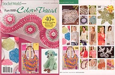 Crochet World Presents Fun With Color in Thread