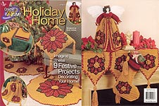 Annies Attic Crochet 'n' Weave Holiday Home