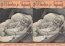 Coats & Clark's Book No. 138: Woolies for Infants