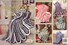 Annie's Attic Crochenit Mile- A- Minute Afghans