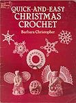 Dover Needlework Series Quick and Easy Christmas Crochet