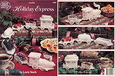 Crochet Holiday Express Train