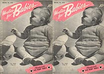 Coats & Clark's Book No. 224: Woolies for Babies