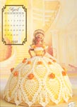 Annies Calendar Bed Doll Society, Cotilliion Collection, Miss April 1992