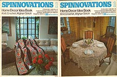 Spinnovations 1: Home Decor Idea Book - Knit, Crochet, Afghan Stitch