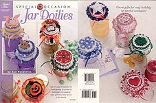 Annies Attic Special Occasion Jar Doilies