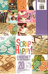 Annie's Scrap Happy Crochet for All Seasons 2015 Calendar