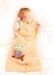 Bendy Carter Sweet Dreams Baby Owl Sack