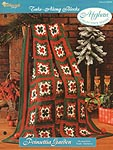 The Needlecraft Shop Afghan Collector Series: Poinsettia Garden