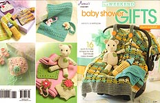 Annie's Crochet In a Weekend Baby Shower Gifts