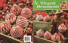 Annie's Attic Thread Crochet Elegant Ornaments