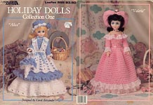 Leisure Arts Holiday Dolls, Collection One