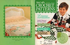 McCall's Crochet Patterns, Aug. 1992