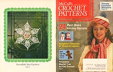McCall's Crochet Patterns, Dec. 1992
