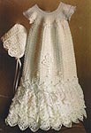 The Crochet Garden Serenity Christening Gown