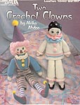 Leisure Arts Two Crochet Clowns