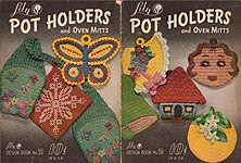 Lily Design Book No. 59: Pot Holders and Oven Mitts