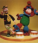 Mangelsens Crocheted Clowns