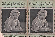 Coats & Clark's Book No. 178: Woolies for Babies