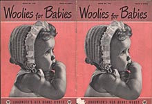Coats & Clark's Book No. 245: Woolies for Babies