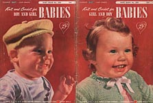 Coats & Clark's Baby Book No. 500: Knit and Crochet for Girl and Boy Babies
